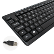 CiT Builder Wired USB Keyboard and Optical Mouse Set for PC Builder