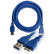 Cablexpert USB 3.0 Blue SuperSpeed Cable A to Micro BM 3m Cablexpert