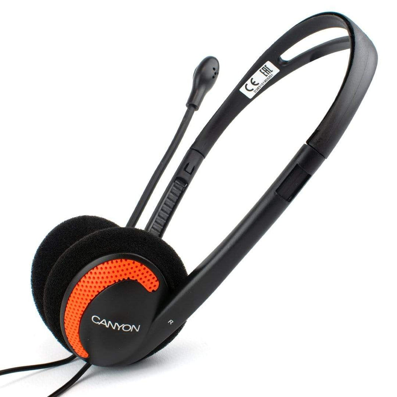 CANYON 3.5mm Computer Headset with Mic Zoom Skype PC Live Chat CANYON