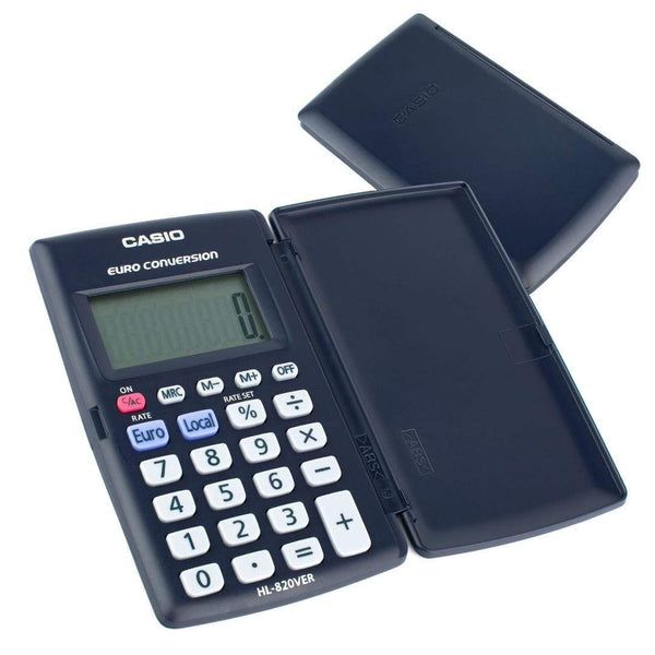 Casio HL820VER Pocket Calculator & Cover | Auto Power Off I-CHOOSE LIMITED