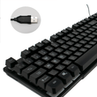 CiT Builder USB Wired RGB Gaming Keyboard for PC Computer CiT