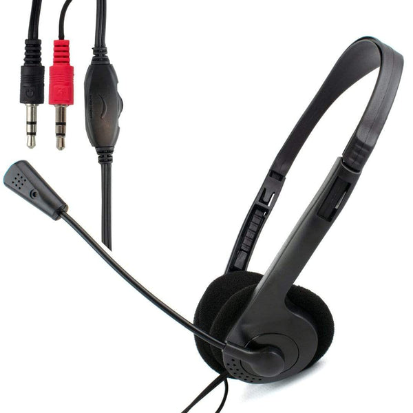 Dynamode DM-N90 Stereo Headset with Microphone for Skype Dynamode