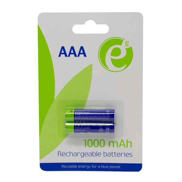 Energenie AAA Rechargeable Battery 1000mAh - 2 in a Pack Energenie