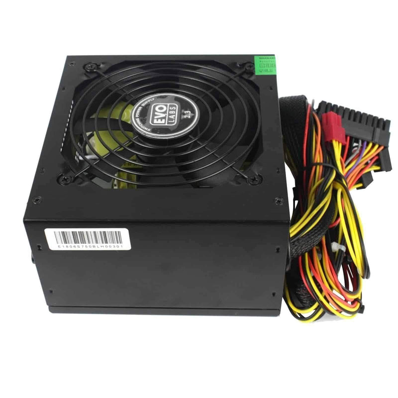 Evo Labs 500W ATX PSU Power Supply for Computer Silent 12cm Fan Evo Labs