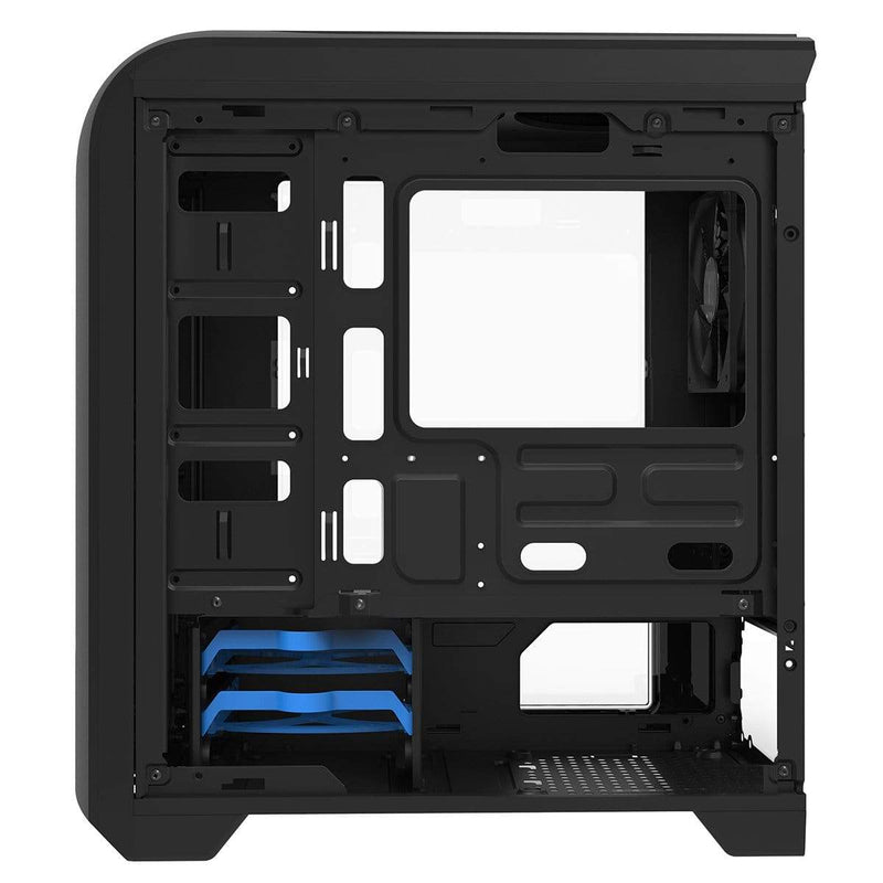 GameMax Centauri Mid-Tower MATX Gaming PC Case with LED Fan GameMax