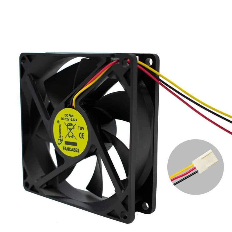 Gembird FANCASE2 Silent 9cm Case Sleave Bearing Fan for PC Gembird