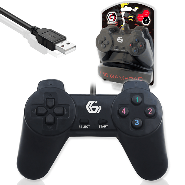 Gembird JPD-UB-01 USB Wired Gamepad Controller for PC Computer Gembird