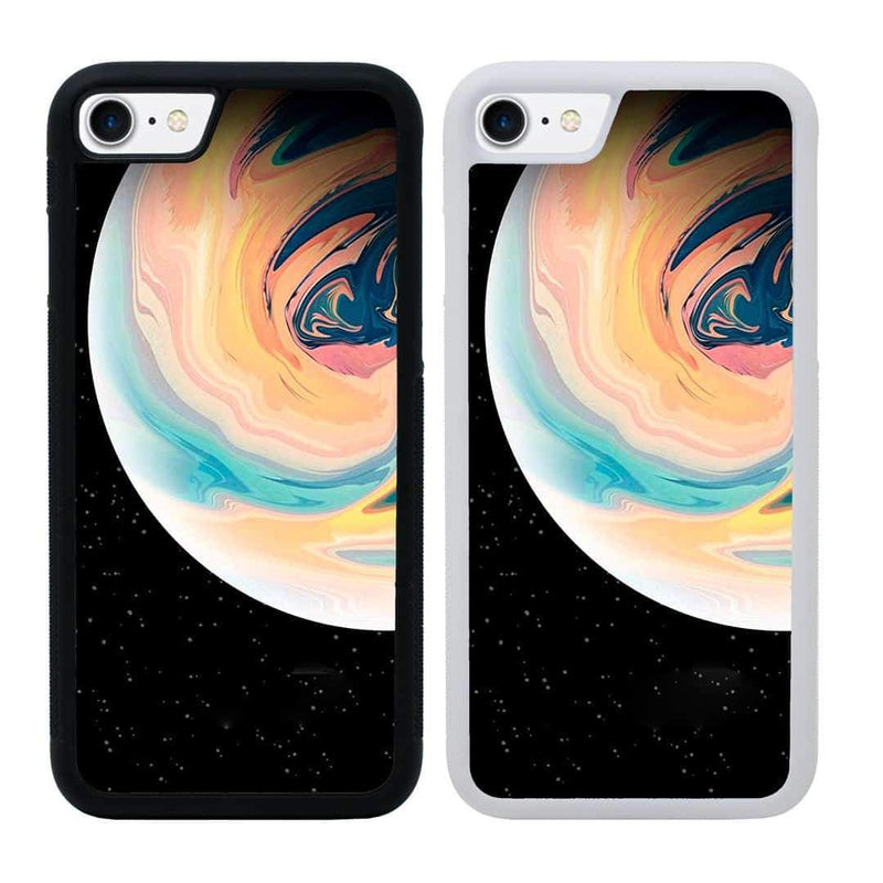 Acrylic Planets Case Phone Cover for Apple iPhone 7 I-Choose Ltd