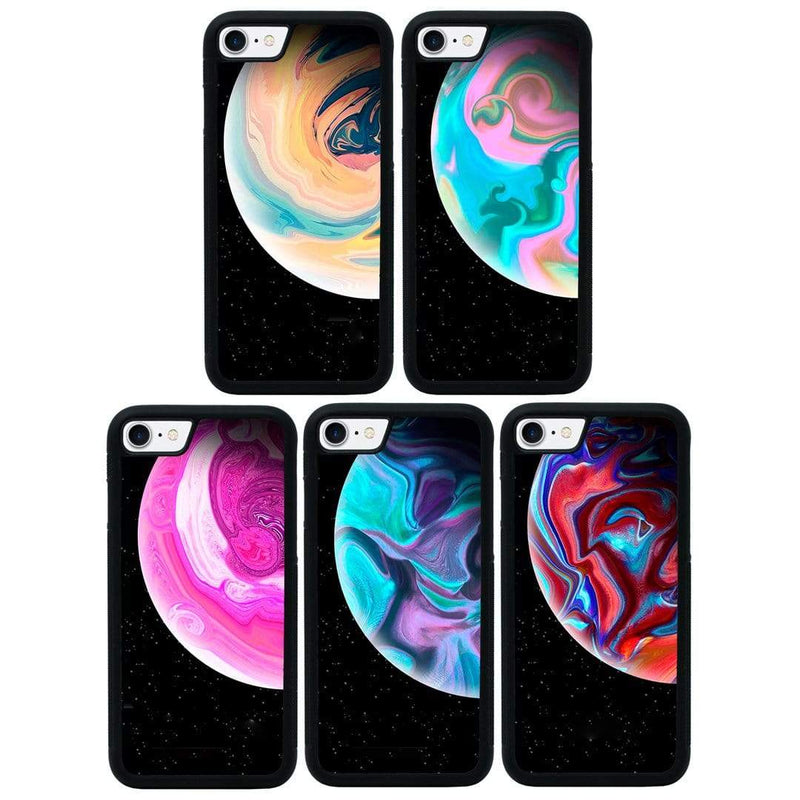 Acrylic Planets Case Phone Cover for Apple iPhone 8 Plus I-Choose Ltd