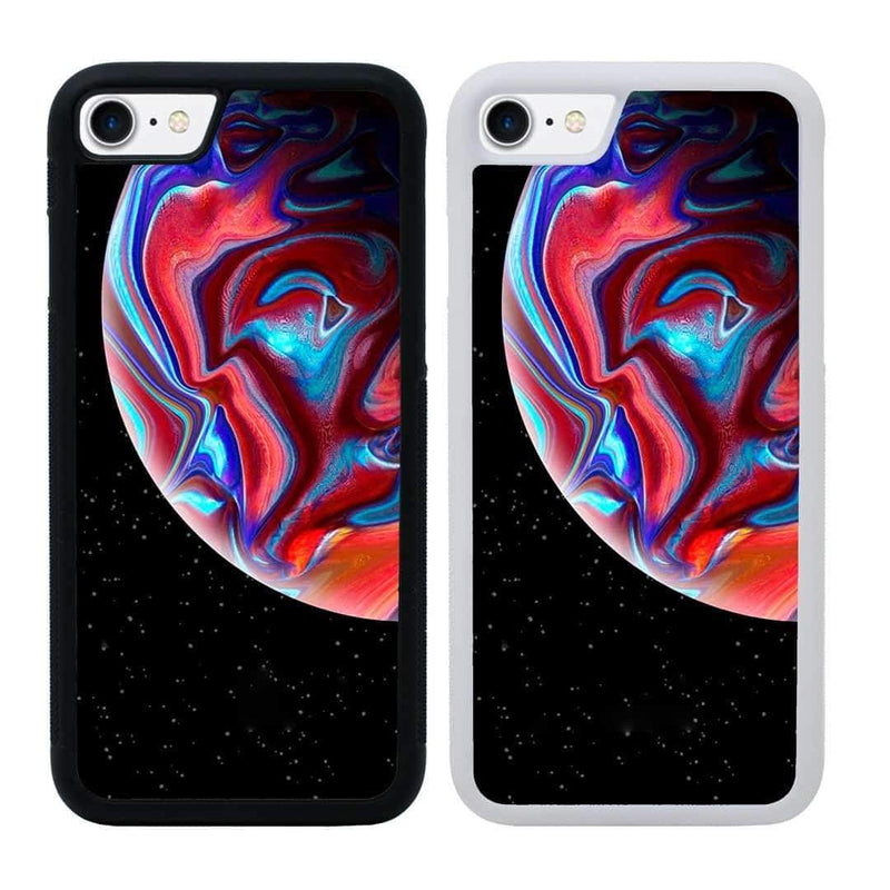 Acrylic Planets Case Phone Cover for Apple iPhone 8 I-Choose Ltd