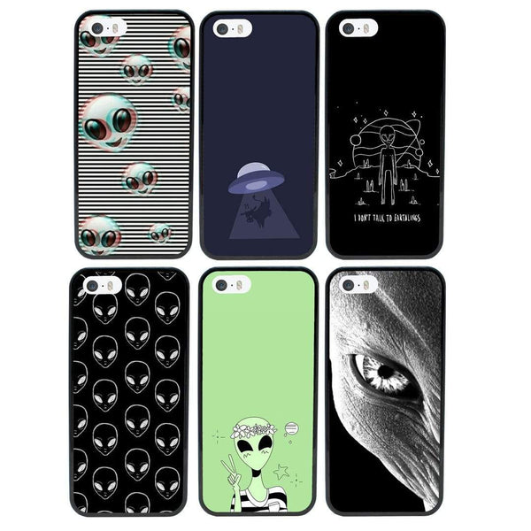 Aliens Case Phone Cover for Apple iPhone 8 I-Choose Ltd