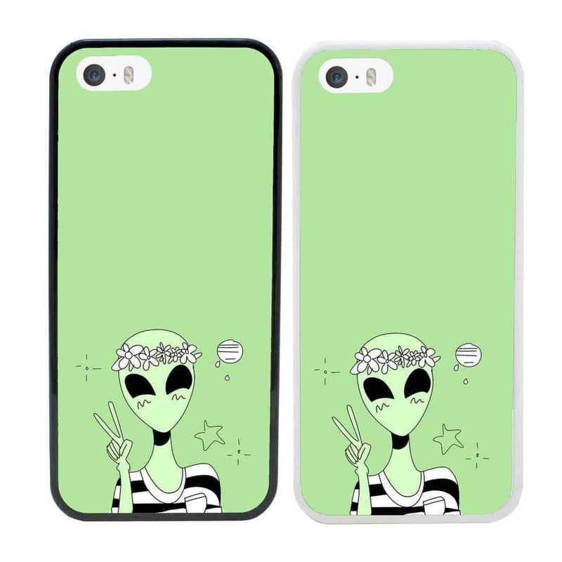 Aliens Case Phone Cover for Apple iPhone 8 Plus I-Choose Ltd