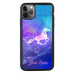 Apple iPhone 11 Pro Max Personalised Name Case Glass Cover / Horse I-Choose Ltd
