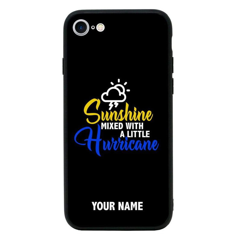 Apple iPhone 6 6s Personalised Name Case Glass Cover / Sassy I-Choose Ltd