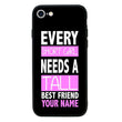Apple iPhone 8 Personalised Name Case Glass Cover / Best Friends I-Choose Ltd