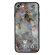 Apple iPhone 8 Personalised Name Case Glass Cover / Marble I-Choose Ltd