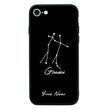 Apple iPhone 8 Personalised Name Case Glass Cover / Zodiac I-Choose Ltd
