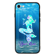 Apple iPhone 8 Plus Personalised Name Case Glass Cover / Mermaids I-Choose Ltd