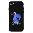 Apple iPhone 8 Plus Personalised Name Case Glass Cover / Wolf I-Choose Ltd