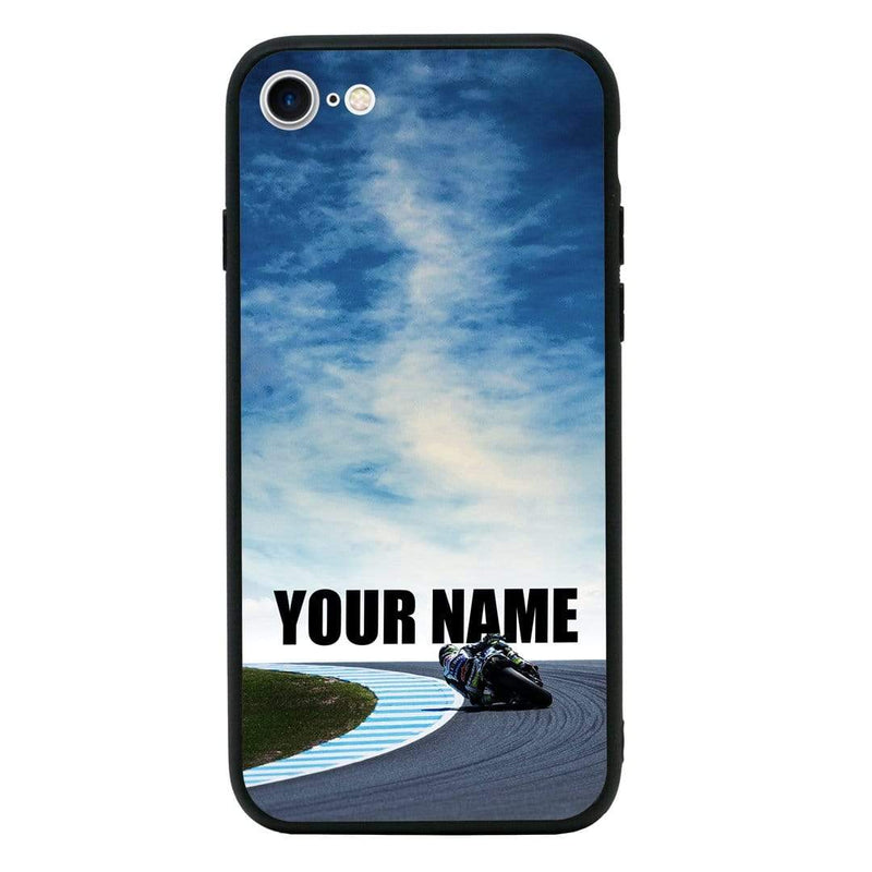 Apple iPhone SE 2020 Personalised Name Case Glass Cover / Superbikes I-Choose Ltd