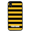 Apple iPhone X XS 10 Personalised Name Case Glass Cover / Bee I-Choose Ltd