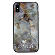 Apple iPhone X XS 10 Personalised Name Case Glass Cover / Marble I-Choose Ltd
