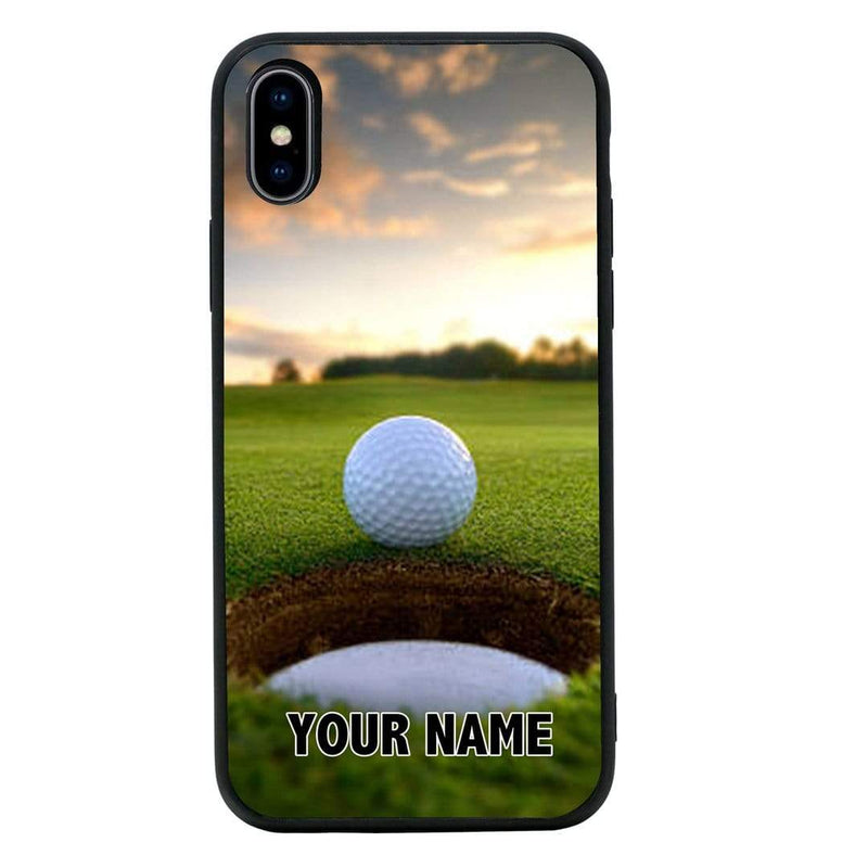 Apple Iphone Xs Max Personalised Glass Cover Golf Ichoose Ltd