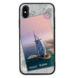 Apple iPhone XS Max Personalised Name Case Glass Cover / Landmarks I-Choose Ltd