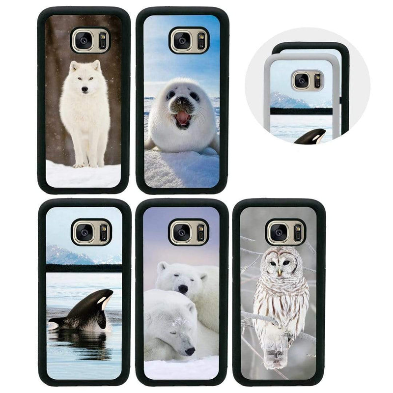 Artic Animals Case Phone Cover for Samsung Galaxy S10E I-Choose Ltd