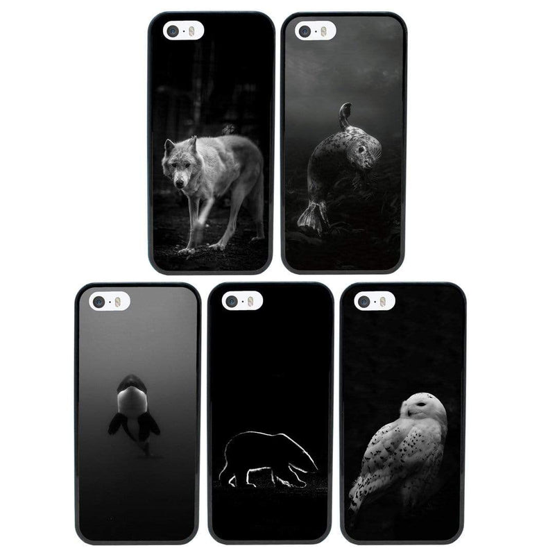 Artic Black and White Case Phone Cover for Apple iPhone 7 Plus I-Choose Ltd