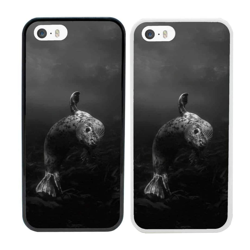 Artic Black and White Case Phone Cover for Apple iPhone 8 Plus I-Choose Ltd