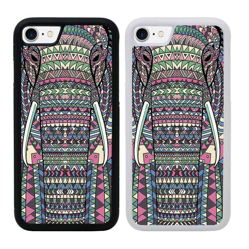 Aztec Animals Case Phone Cover for Apple iPhone 7 Plus I-Choose Ltd