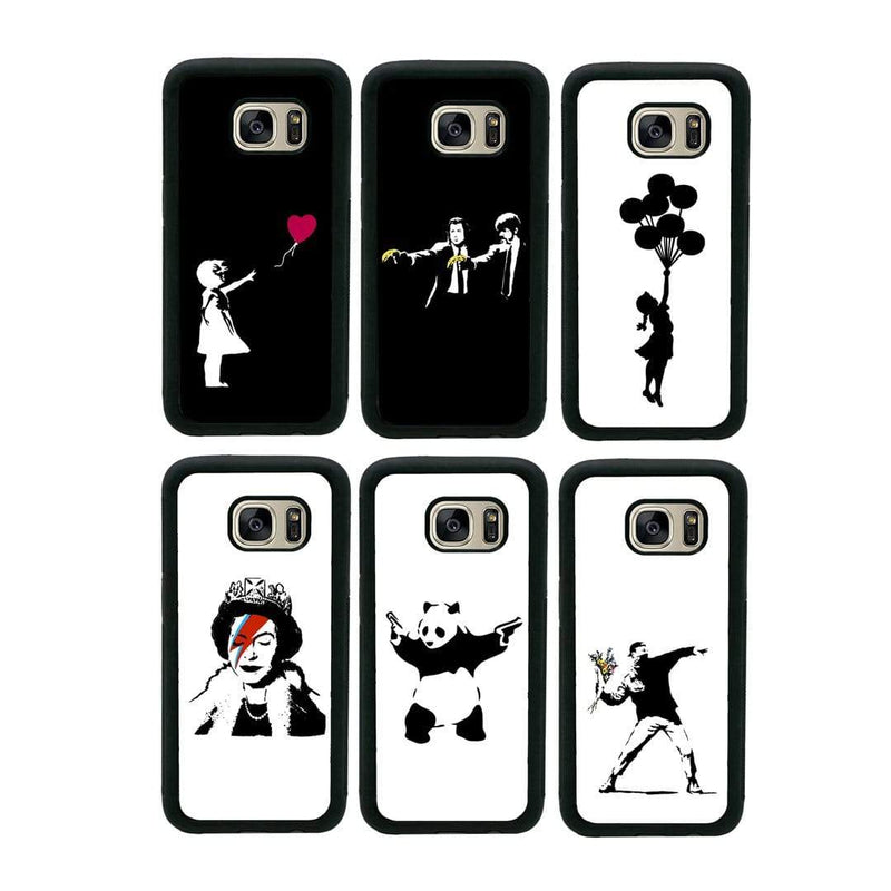 Banksy Case Phone Cover for Samsung Galaxy S9 I-Choose Ltd