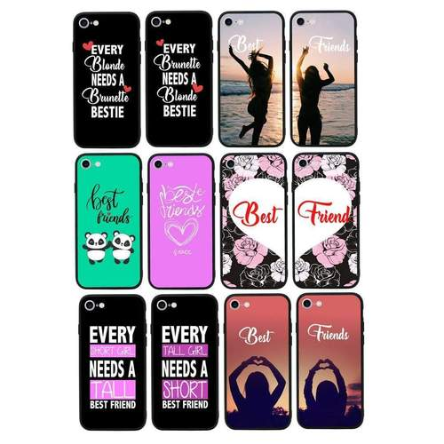 Best Friends Case Phone Cover for Apple iPhone 8 I-Choose Ltd