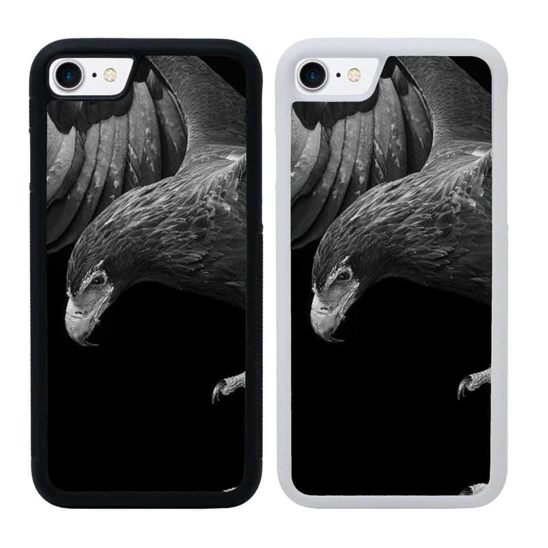 Black and White Eagle Case Phone Cover for Apple iPhone 6 6s Plus I-Choose Ltd