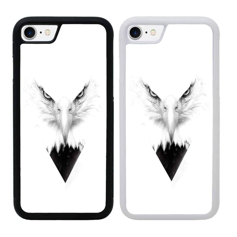 Black and White Eagle Case Phone Cover for Apple iPhone 6 6s I-Choose Ltd