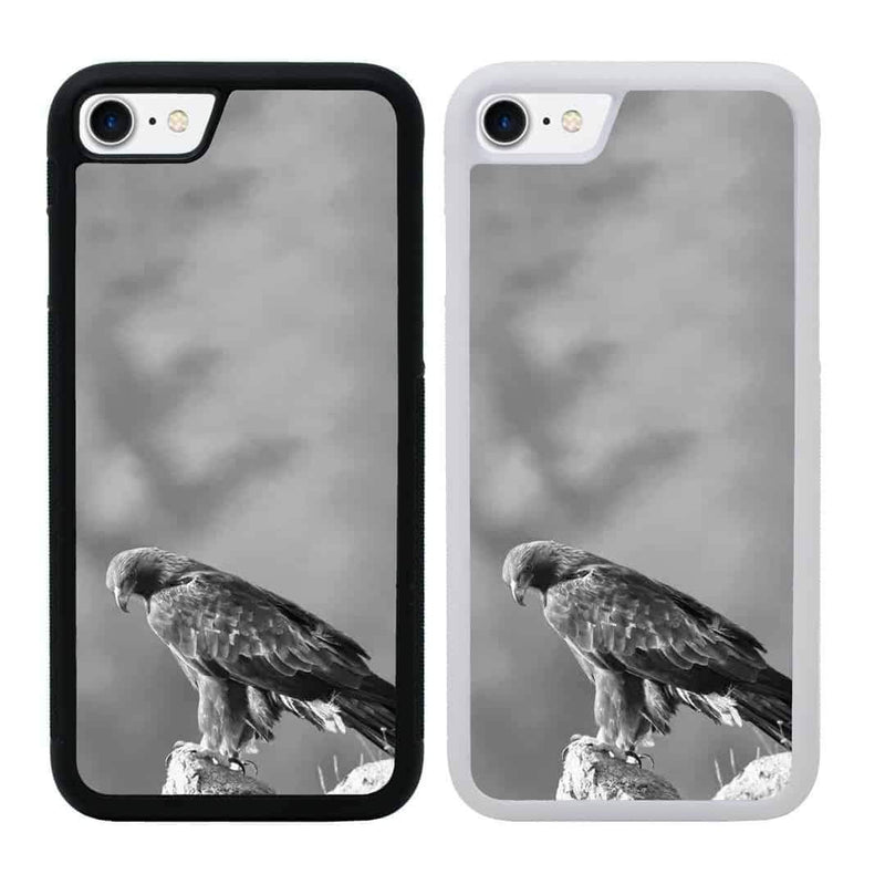 Black and White Eagle Case Phone Cover for Apple iPhone 7 I-Choose Ltd
