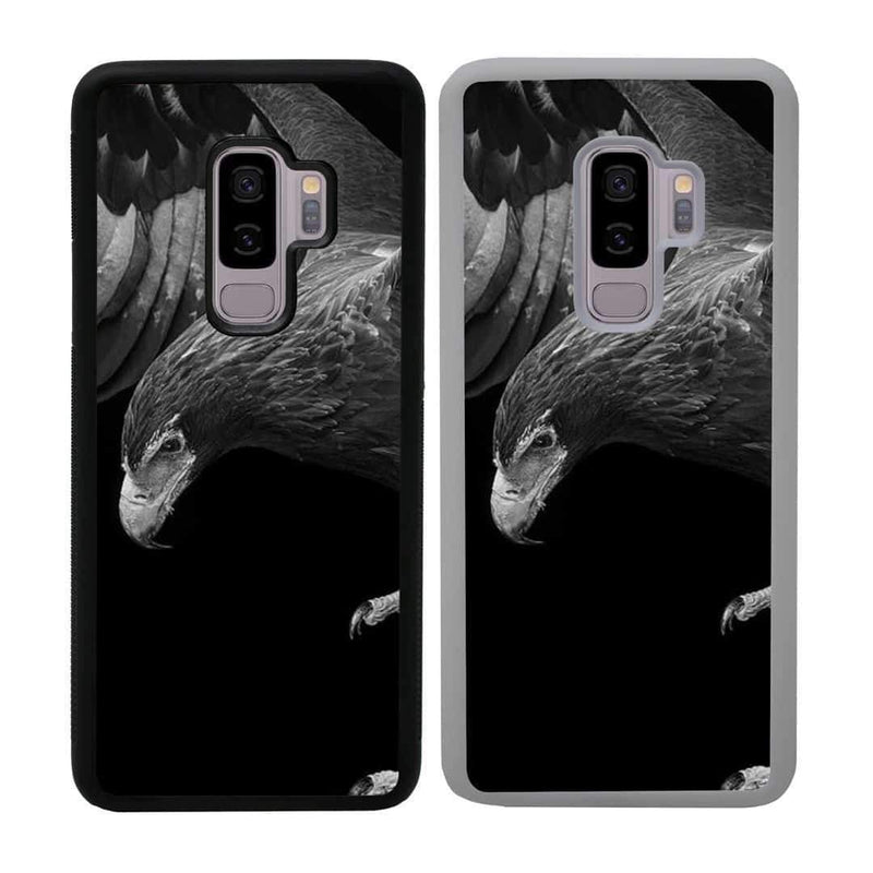 Black and White Eagle Case Phone Cover for Samsung Galaxy S10 Plus I-Choose Ltd