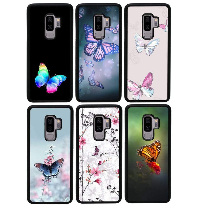Butterfly Case Phone Cover for Samsung Galaxy S9 Plus I-Choose Ltd