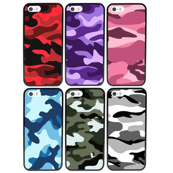 Camouflage Case Phone Cover for Apple iPhone 7 I-Choose Ltd