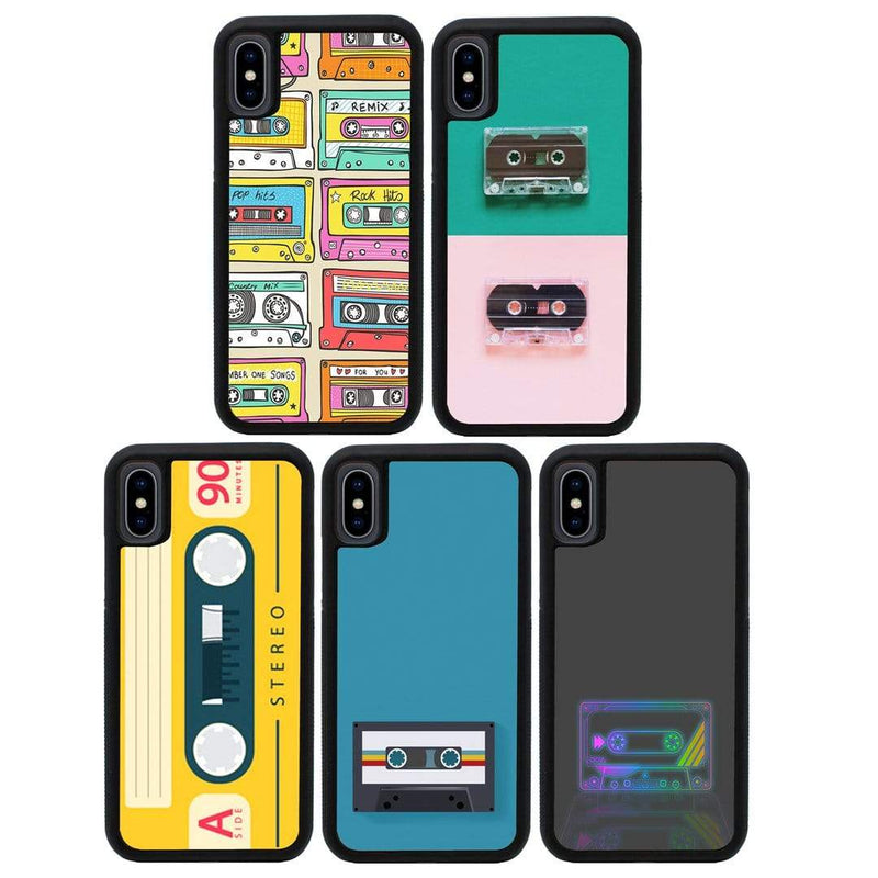Cassette Tape Case Phone Cover for Apple iPhone X XS 10 I-Choose Ltd