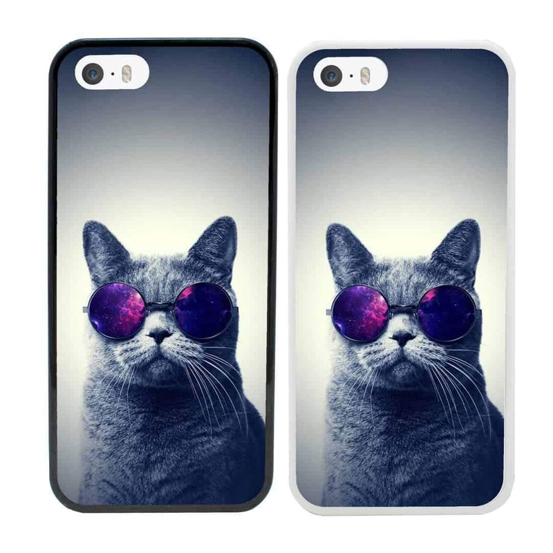 Cats Case Phone Cover for Apple iPhone 8 I-Choose Ltd