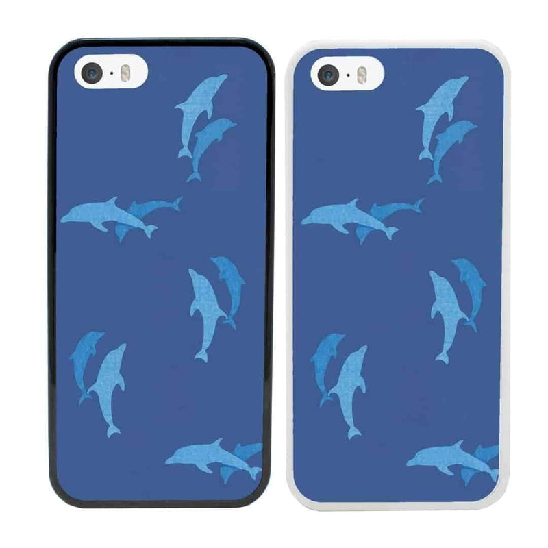 Dolphins Case Phone Cover for Apple iPhone 8 Plus I-Choose Ltd