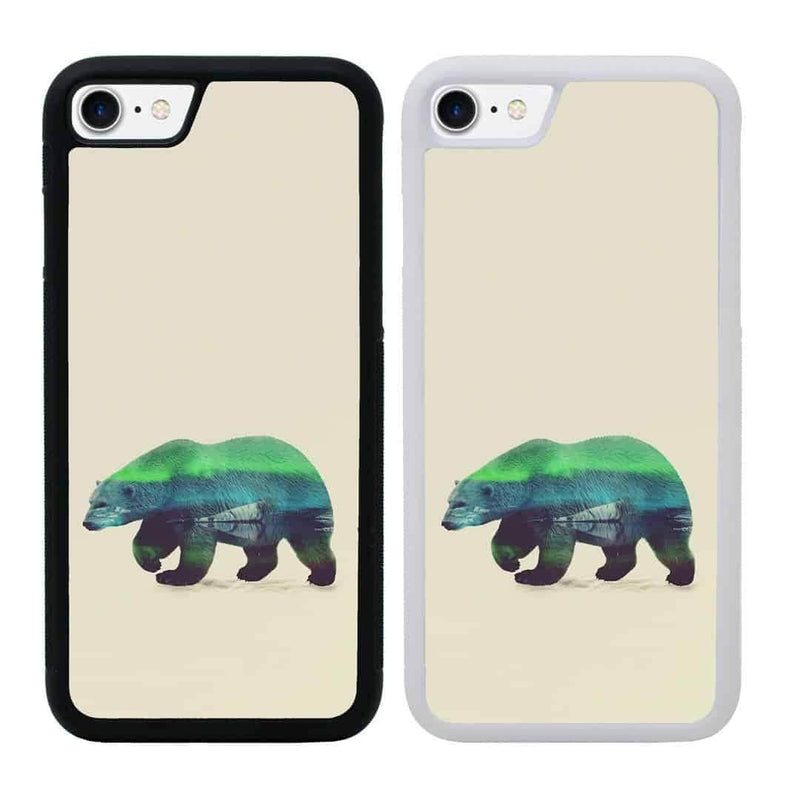 Double Exposure Animals Case Phone Cover for Apple iPhone 7 Plus I-Choose Ltd