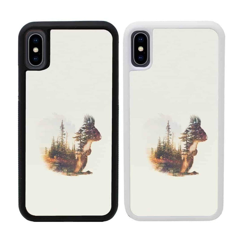 Double Exposure Animals Case Phone Cover for Apple iPhone XR I-Choose Ltd