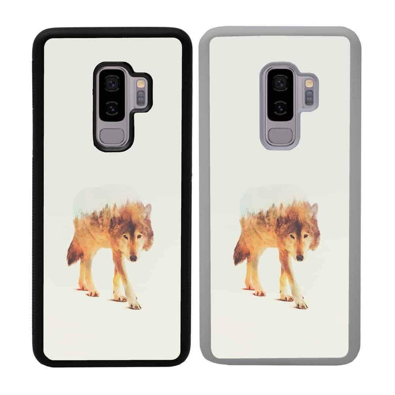 Double Exposure Animals Case Phone Cover for Samsung Galaxy S10E I-Choose Ltd