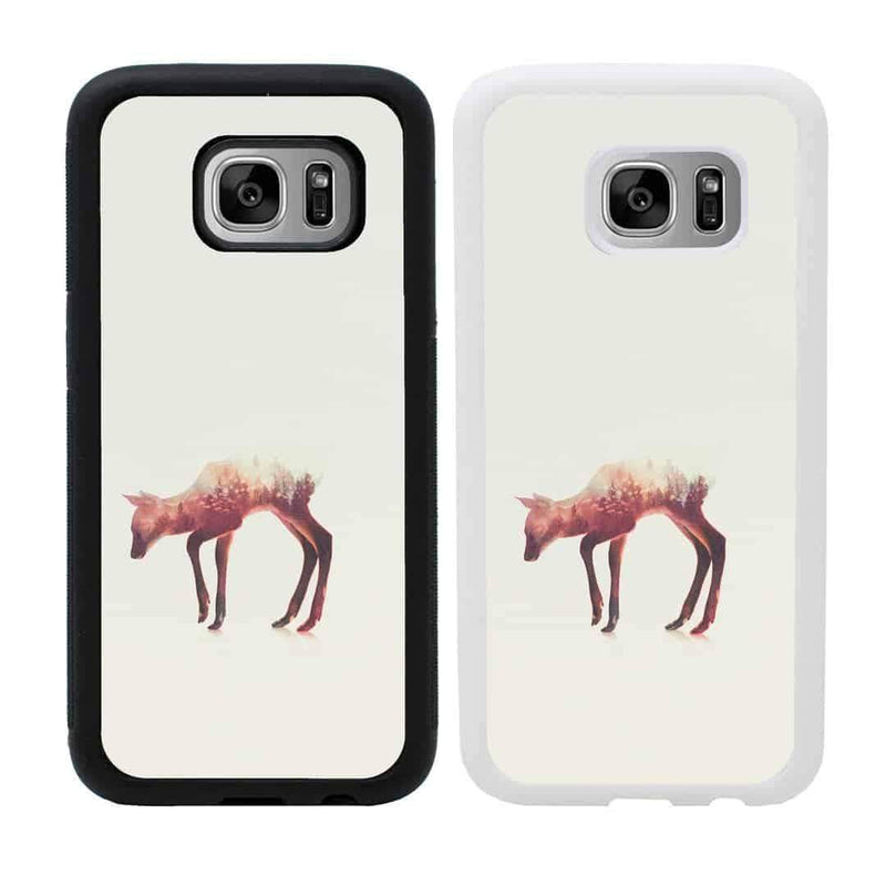 Double Exposure Animals Case Phone Cover for Samsung Galaxy S9 I-Choose Ltd