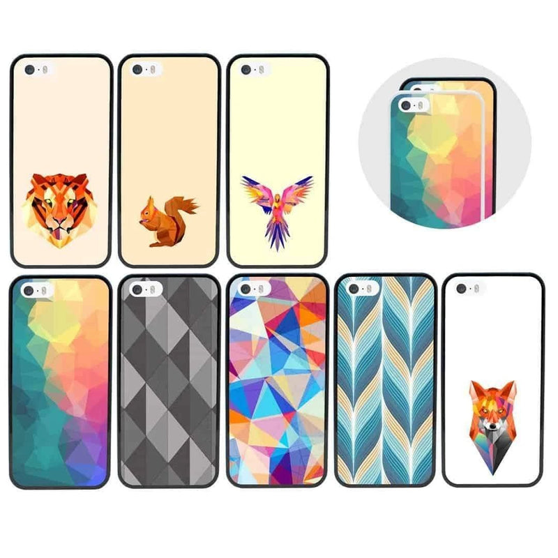 Geometric Case Phone Cover for Apple iPhone 8 Plus I-Choose Ltd