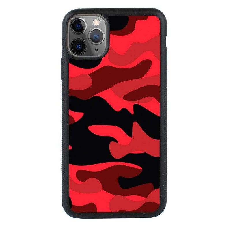 Glass Case Phone Cover for Apple iPhone 11 / Camouflage I-Choose Ltd