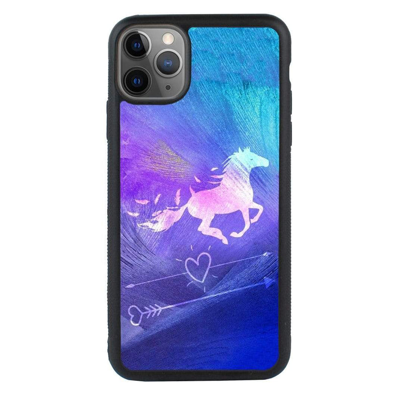 Glass Case Phone Cover for Apple iPhone 11 Pro Max / Horse I-Choose Ltd
